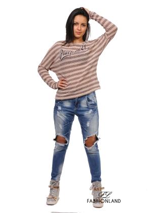 Дамска блуза дълъг ръкав - SUBLEVEL