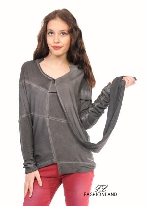 Дамска блуза дълъг ръкав - NEGATIVE