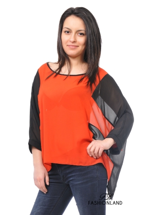 Дамска блуза дълъг ръкав - BAT