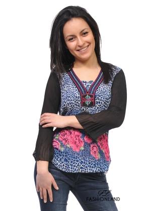 Дамска блуза дълъг ръкав - ЕТНО