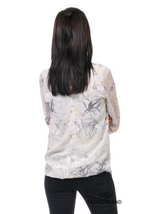 Дамска блуза дълъг ръкав - FRA