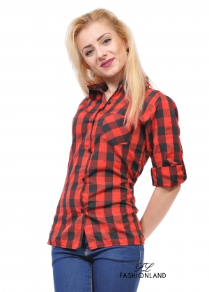 Дамска риза - Red queen