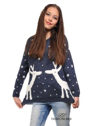 Дамски пуловер -Winter