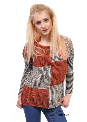 Дамски пуловер - Square