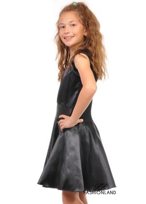 Детска рокля - Black