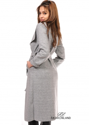 Дамско палто - GREY