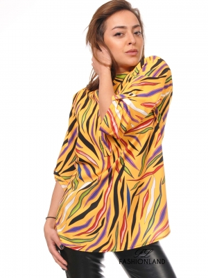 Дамска риза дълъг ръкав